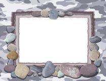 Gray Camofulage Card Stockfotos
