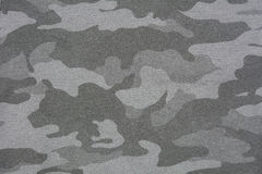 Gray camouflage fabric texture Royalty Free Stock Image