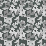 Gray camouflage Royalty Free Stock Image