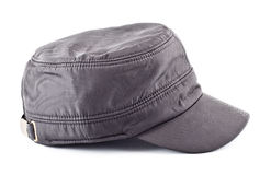 Gray Cap Royalty Free Stock Photos