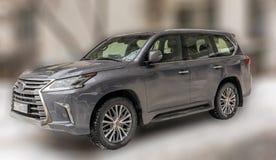 Gray car. Royalty Free Stock Photo