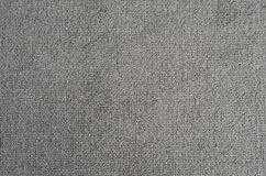 Gray carpet texture. Close up view of a gray carpet texture royalty free stock image