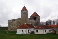Gray castle Royalty Free Stock Photos