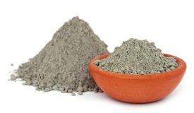 Gray cement powder Stock Image
