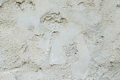 Gray Cement Wall photographie stock