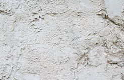 Gray cement wall of textura.  stock photography
