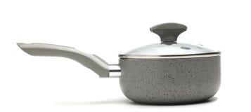 Gray Ceramic coating Pot Royalty Free Stock Photo