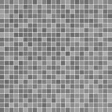 Gray ceramic tile. Mosaic in swimming pool Royalty Free Stock Image