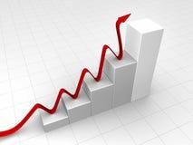 Gray Chart Stock Image