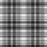 Gray check fabric texture seamless pattern. Vector illustration Stock Image