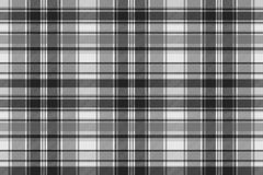 Gray check fabric texture seamless pattern. Vector illustration Royalty Free Stock Photo
