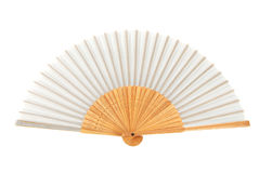 Gray Chinese Fan Royalty Free Stock Photo