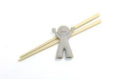 Gray Chop Sticks Set Immagini Stock