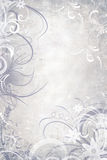 Gray christmas background Royalty Free Stock Photography