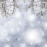 Gray  christmas background. Royalty Free Stock Photo