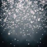 Gray christmas background Stock Photo