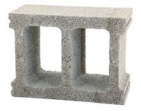 Gray Cinder Block Stock Photography