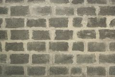 Gray cinder block textured background royalty free stock images