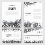 Gray circles identity-1 Stock Photo