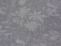 Gray cloth with abstract drawings Royalty Free Stock Photography
