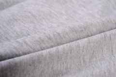 Gray cloth made by cotton fiber Stock Photo