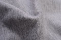 Gray cloth made by cotton fiber Royalty Free Stock Photo