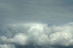 Gray cloud Royalty Free Stock Images