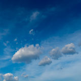 Gray cloud with Blue sky Stock Images