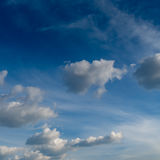 Gray cloud with Blue sky Royalty Free Stock Photography