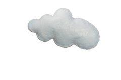 Gray Cloud fatto a mano Immagine Stock