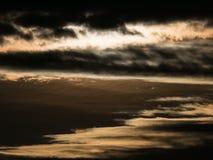Gray Clouds Obscure The Sun imagen de archivo