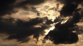 Gray Clouds Obscured imagenes de archivo