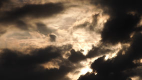 Gray Clouds Obscured fotos de archivo libres de regalías