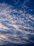 Gray Clouds ondulado blanco Fotos de archivo