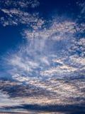Gray Clouds ondulado blanco Fotografía de archivo