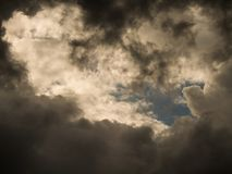 Gray Clouds Before Rain. The Gray Clouds Before Rain stock image