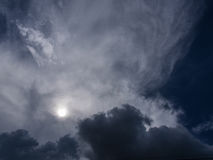 Gray Clouds Before Rain imagenes de archivo