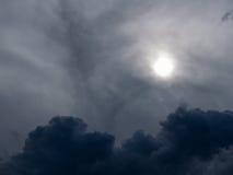 Gray Clouds Before Rain fotografía de archivo