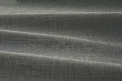 Gray color fabric Royalty Free Stock Photos