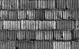 Gray color grungy brick wall pattern. Stock Photo