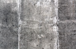 Gray color grungy cement wall surface Stock Images