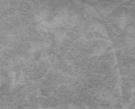 Gray color leather pattern. Royalty Free Stock Images