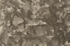 Gray color metal plate pattern. Royalty Free Stock Images