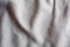 Color sports clothing fabric jersey. Gray color sports clothing fabric jersey Stock Images