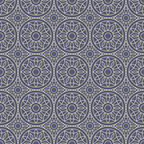 Gray Colors Round grid Pattern. Korean traditional Pattern Desig Stock Photos
