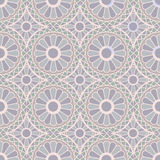 Gray Colors Round grid Pattern. Korean traditional Pattern Desig Stock Photography