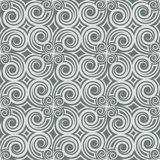 Gray Colors Wave Pattern Conception traditionnelle coréenne Seri de modèle Image stock