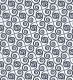 Gray Colors Wave Pattern. Korean traditional Pattern Design Seri Stock Photography