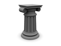 Gray column Royalty Free Stock Photo