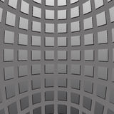 Gray concave squares Royalty Free Stock Photo